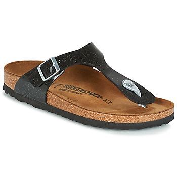 Sapatos Criança Chinelos Birkenstock GIZEH Preto