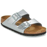 Sapatos Criança Chinelos Birkenstock ARIZONA Prata