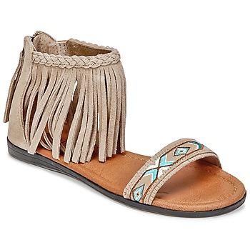 Sapatos Mulher Sandálias Minnetonka MOROCCO Toupeira