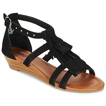 Sapatos Mulher Sandálias Minnetonka MARINA Preto