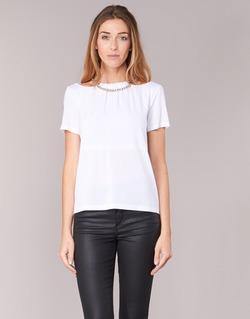 Textil Mulher Tops / Blusas Versace Jeans B2HPB721 Branco