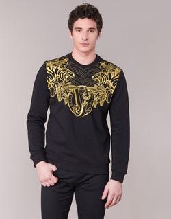 Textil Homem Sweats Versace Jeans B7GPB7F0 Preto