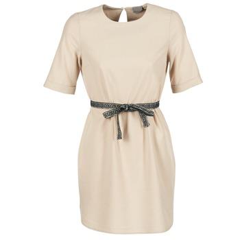 Textil Mulher Vestidos curtos Vero Moda MILO SUKI Bege