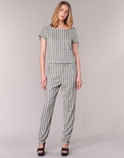 Textil Mulher Macacões/ Jardineiras Vero Moda NOW Branco / Preto