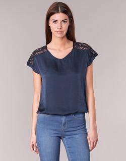 Textil Mulher Tops / Blusas Vero Moda SATINI Marinho
