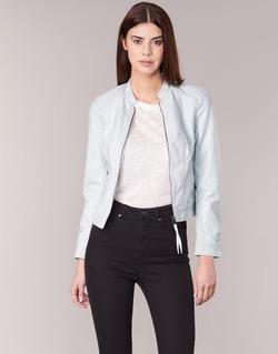 Textil Mulher Casacos de couro/imitação couro Vero Moda QUEEN Azul / Claro