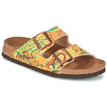 Sapatos Mulher Chinelos Papillio ARIZONA Amarelo / Verde