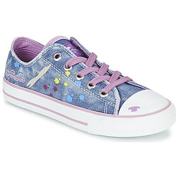 Sapatos Rapariga Sapatilhas Tom Tailor JIJAA Azul / Violeta