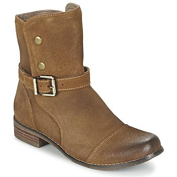 Sapatos Mulher Botas baixas Kdopa  Camel