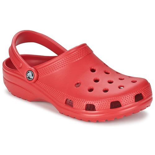 Sapatos Tamancos Crocs CLASSIC Vermelho