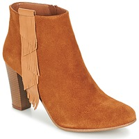 Sapatos Mulher Botins Betty London GAMI Camel