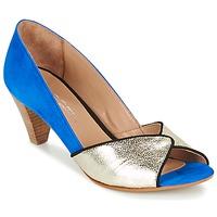 Sapatos Mulher Escarpim Betty London GABIN Azul / Ouro