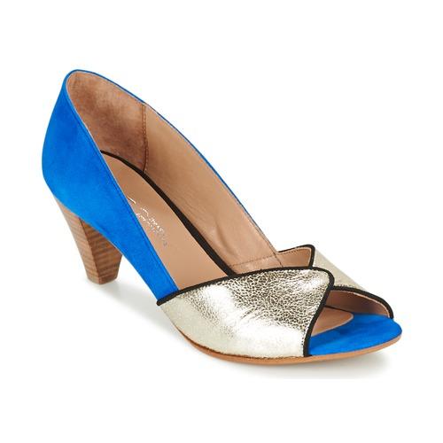 Sapatos Mulher Escarpim Betty London GABYN Azul / Ouro