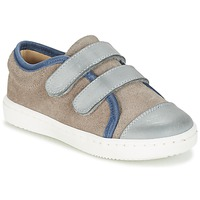 Sapatos Rapaz Sapatilhas Citrouille et Compagnie GOUTOU Cinza / Toupeira / Azul