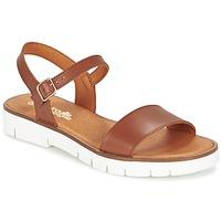 Sapatos Rapariga Sandálias Citrouille et Compagnie GLAPOTI Camel