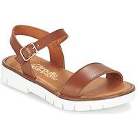Sapatos Rapariga Sandálias Citrouille et Compagnie GAPOTI Camel