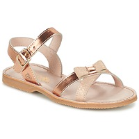 Sapatos Rapariga Sandálias Citrouille et Compagnie GOGOGATO Bronze
