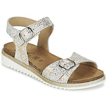 Sapatos Rapariga Sandálias Citrouille et Compagnie GAUFRETTE Ouro