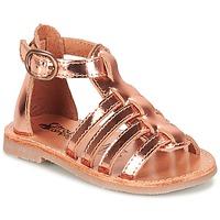 Sapatos Rapariga Sandálias Citrouille et Compagnie JASMA Cobre