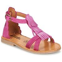 Sapatos Rapariga Sandálias Citrouille et Compagnie GAMELA Rosa