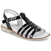Sapatos Rapariga Sandálias Citrouille et Compagnie GROUFLA Preto