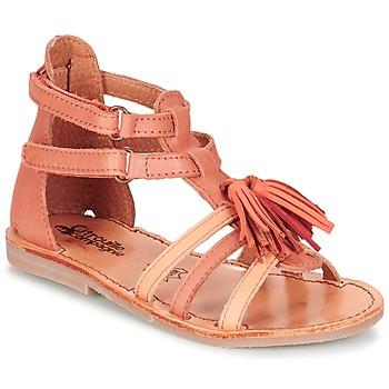 Sapatos Rapariga Sandálias Citrouille et Compagnie GOFARO Laranja