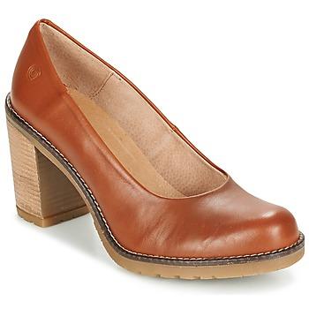 Sapatos Mulher Escarpim Casual Attitude GEAL Camel
