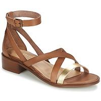 Sapatos Mulher Sandálias Casual Attitude GILDAS Camel / Dourado