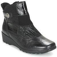 Sapatos Mulher Botins Romika Carree 16 Preto