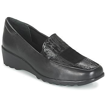 Sapatos Mulher Mocassins Romika Carree 17 Preto