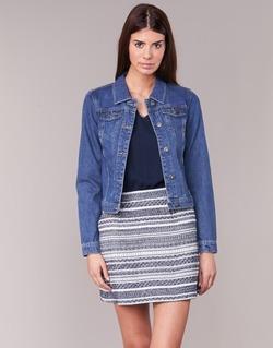 Textil Mulher casacos de ganga Only DARCY Azul