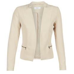 Textil Mulher Casacos/Blazers Only MADELINE Bege