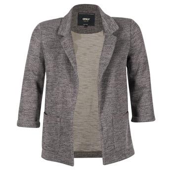 Textil Mulher Casacos/Blazers Only CAROLINE Cinza