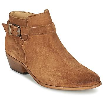 Sapatos Mulher Botas baixas Betty London GAFFA Camel