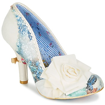 Sapatos Mulher Escarpim Irregular Choice WASHINGTON Branco