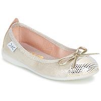 Sapatos Rapariga Sabrinas Citrouille et Compagnie GRAGON Bege / Brilhante