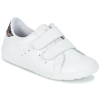 Sapatos Rapariga Sapatilhas Citrouille et Compagnie GRANOU Branco / Brilhante