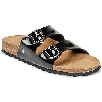 Sapatos Mulher Chinelos Casual Attitude GERRO Preto