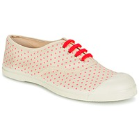 Sapatos Mulher Sapatilhas Bensimon TENNIS MINIPOIS Cru / Rosa