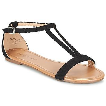 Sapatos Mulher Sandálias Moony Mood GEMINIELLE Preto