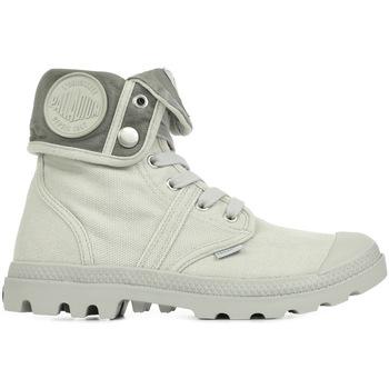 Sapatos Mulher Sapatilhas de cano-alto Palladium US Baggy Cinza