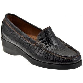 Sapatos Mulher Mocassins Valleverde  Castanho