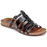 Sapatos Mulher Sandálias Kickers ANAELLE Preto