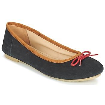 Sapatos Mulher Sabrinas Kickers BAIE Preto / Vermelho