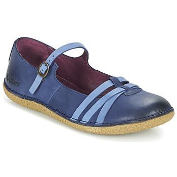 Sapatos Mulher Sabrinas Kickers HIBOU Marinho