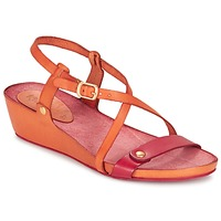 Sapatos Mulher Sandálias Kickers TASTE Laranja / Vermelho