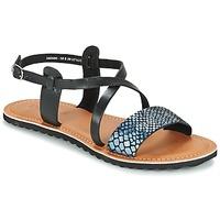 Sapatos Mulher Sandálias Kickers VIPA Preto