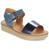 Sapatos Mulher Sandálias Kickers VICTORY Azul