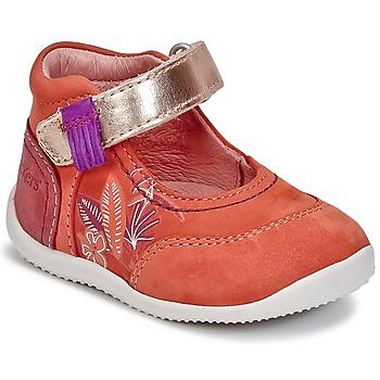 Sapatos Rapariga Sabrinas Kickers BIMAMBO Laranja / Rosa fúchia  / Rosa
