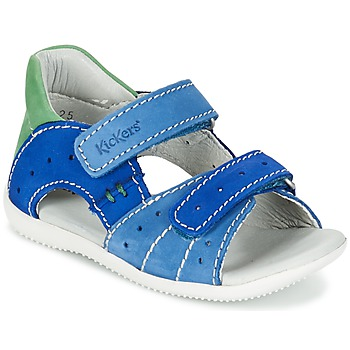 Sapatos Rapaz Sandálias Kickers BOPING Azul / Verde